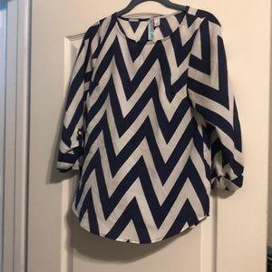 Tops - Chevron blouse